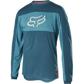 Fox Ranger Dr Foxhead LS Jersey Herren maui blue